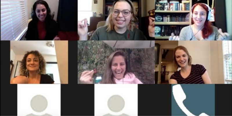 These virtual team building activities are fun.